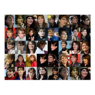 Sarah Palin Collage Postcards
