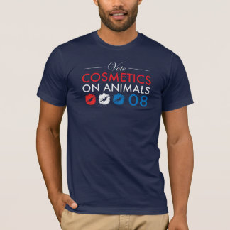 Sarah Palin Cosmetics On Animals T-Shirt