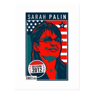 Sarah Palin Cover Poster Postcard