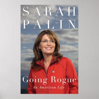 Sarah Palin Going Rogue Cover Poster