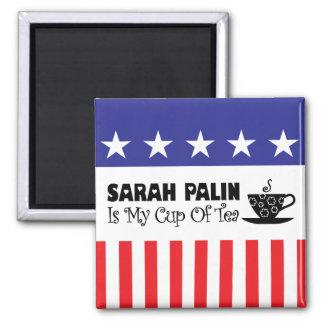 Sarah Palin Is My Cup Of Tea Magnet