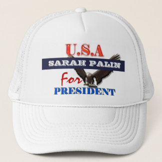 Sarah Palin president 2012 CUSTOMIZE Trucker Hat