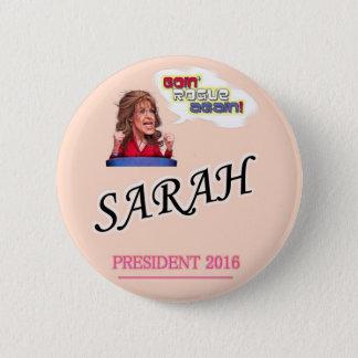 Sarah Palin President 2016 2 Inch Round Button