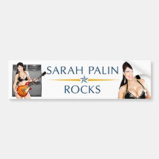 Sarah Palin Rocks Bumper Sticker