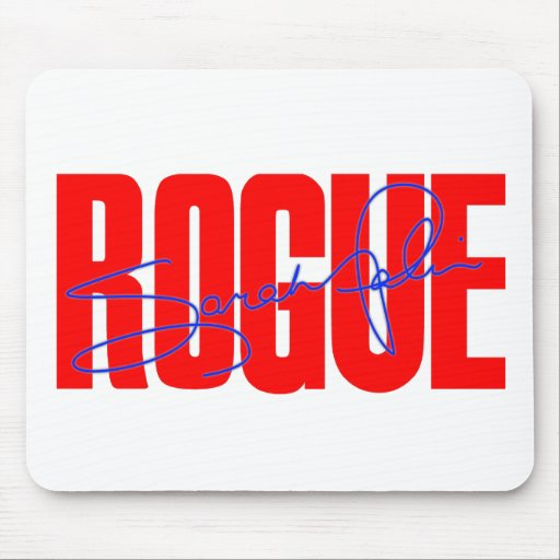 Sarah Palin Rogue Mousepad