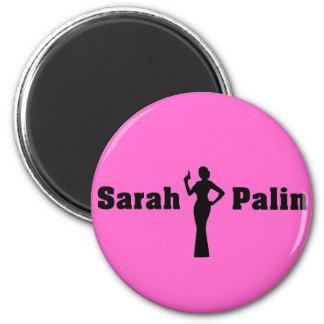 Sarah Palin Round Magnet