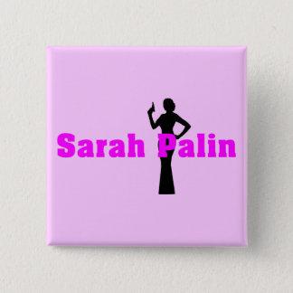 Sarah Palin Square Button