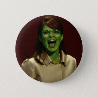 Sarah Palin the Witch 2 Inch Round Button