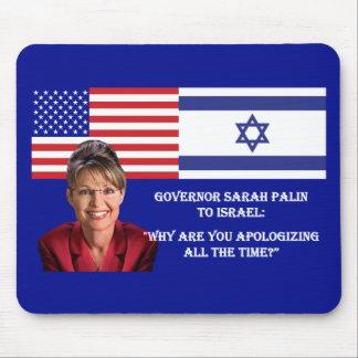 Sarah Palin TO Israel Mouse Pad