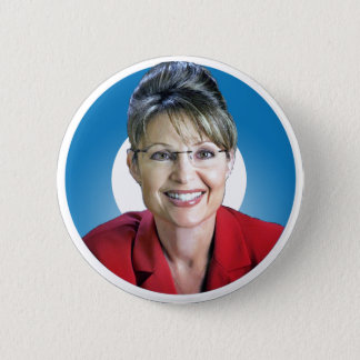 Sarah Palin Trumps The 'O' 2 Inch Round Button