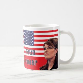 Sarah Palin US Flag Mug