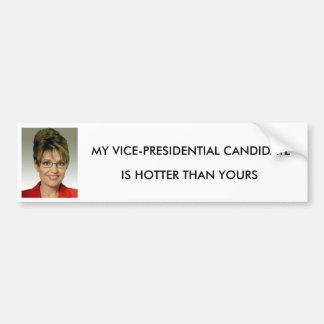 Sarah Palin,  Vice President Bumper Sticker