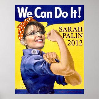 Sarah Palin We Can Do It Poster