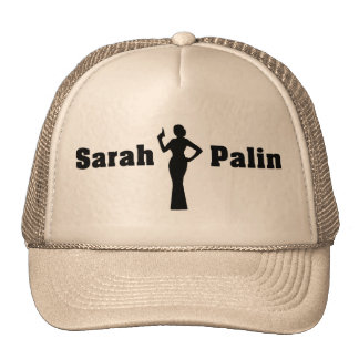 Sarah Palin Woman of Mystery Hat - Customized