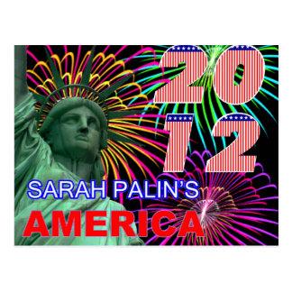 Sarah Palin's America Postcard