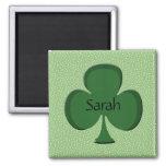 Sarah Shamrock Magnet