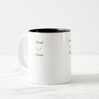 Sarah Smile Coffee Mug