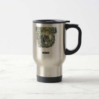 Sarah Snow nose, KSRF Travel Mug
