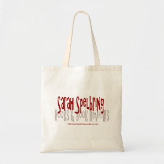 Sarah Spelbring Books & Book Reviews Tote