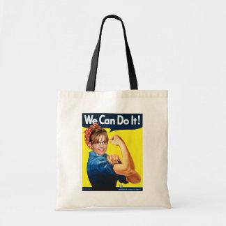 Sarah The Riveter! Tote Bag