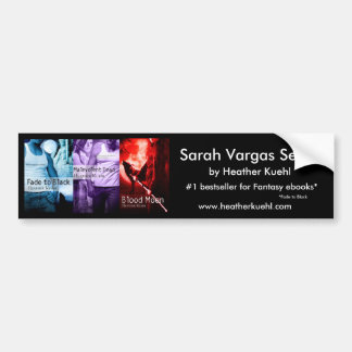 Sarah Vargas series bumpersticker Bumper Sticker