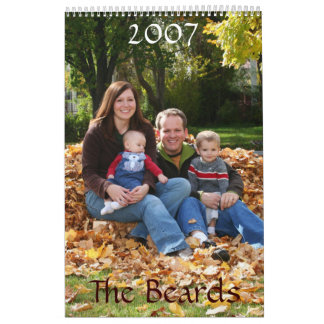 Sarah Version, The Beards, 2007 Calendars