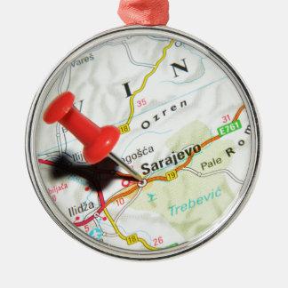 Sarajevo, Bosnia and Herzegovina Metal Ornament