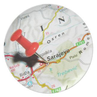Sarajevo, Bosnia and Herzegovina Plate