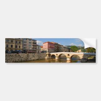 Sarajevo city, capital of Bosnia and Herzegovina Bumper Sticker