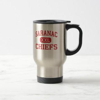 Saranac - Chiefs - High School - Saranac New York Travel Mug