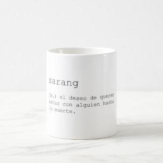 Sarang Coffee Mug