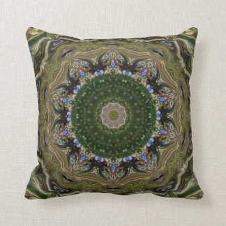 Sara's Courtyard. Throw Pillow