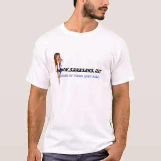 SaraSays.net T-Shirt