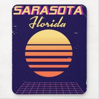 Sarasota Florida 1980s vintage travel print. Mouse Pad