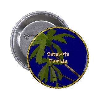 Sarasota, Florida 2 Inch Round Button