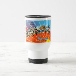Sarasota Florida FL Old Vintage Travel Souvenir Travel Mug
