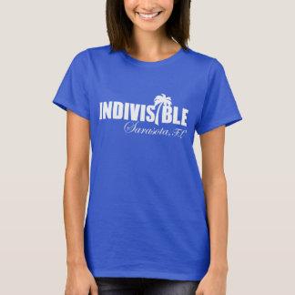 SARASOTA Indivisible women's t-shirt wht logo