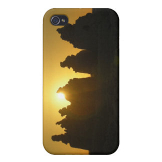 Sarasota Sand Castle Sunset iPhone 4 Case