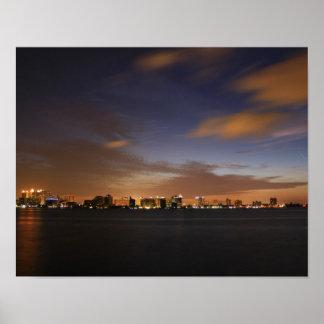 Sarasota Skyline Poster