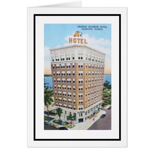 Sarasota's Orange Blossom Hotel Card