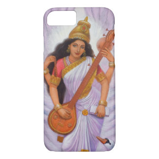 Saraswati Hindu Goddess iPhone 7 Case