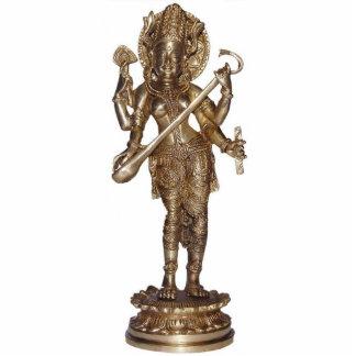 Saraswati Sculpture Standing Photo Sculpture