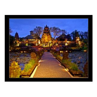 Saraswati Temple, Ubud Bali Indonesia Postcard