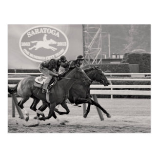 Saratoga 150 Workouts Postcard
