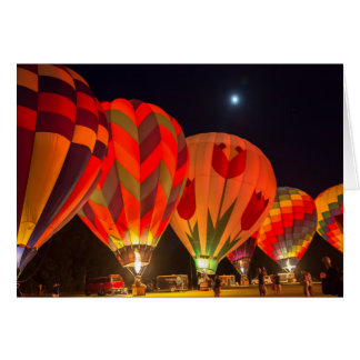 Saratoga Balloon Festival Card