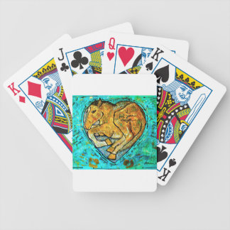 Saratoga beauty bicycle playing cards