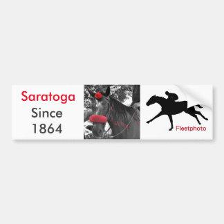 Saratoga Bumper Sticker