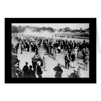 Saratoga Horse Race Track 1913 Card