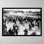 Saratoga Horse Race Track 1913 Poster