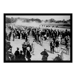 Saratoga Horse Race Track 1913 Poster